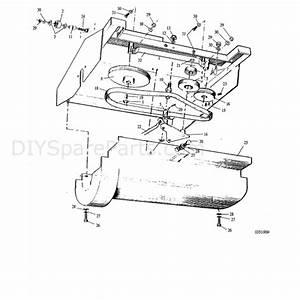 Hayter Condor  511r  Parts Diagram  Transmission Assy