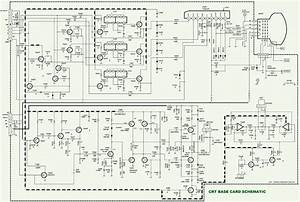 How To Enter Service Mode Onida 21 29 Oxygen Thunder Ctv  U2013 Main And Video Output Schematic