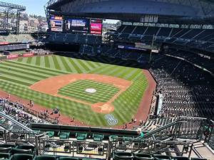Mariners Seating Chart With Rows T Mobile Park Section 333 Seattle Mariners