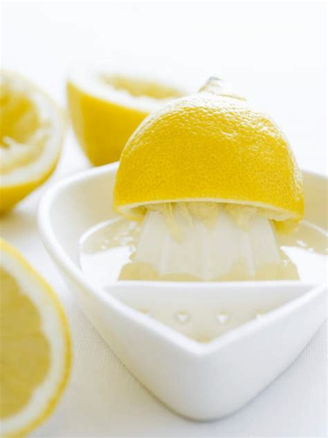 cleaning  lemon juice diy