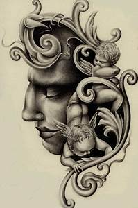 Renaissance Ornament Religious Tattoo Design | Best Tattoo ...