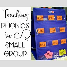 Teaching Phonics In Small Group  Primary Press