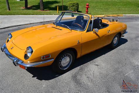 1970 Fiat 850 Sport Spider * Original Collector Quality Car