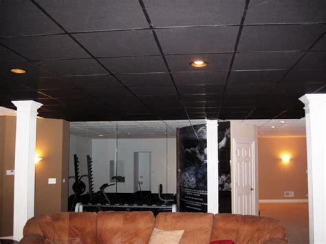 Drop Ceiling Panels For Basement Options E2 80 94 Modern