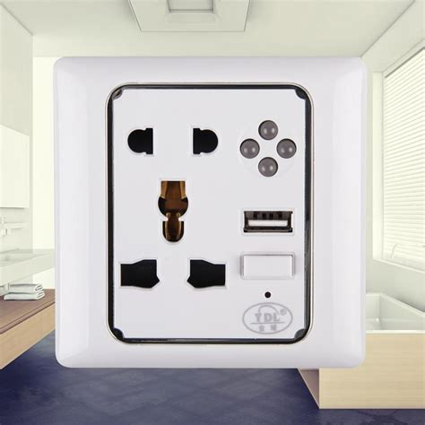 global wall socket charger power supply outlet plate panel