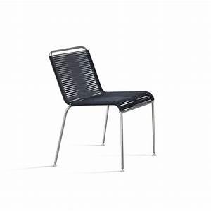 Chaise Exterieur Design : coro jubeae design chaise d 39 ext rieur cordon tress fabriqu en italie ~ Teatrodelosmanantiales.com Idées de Décoration