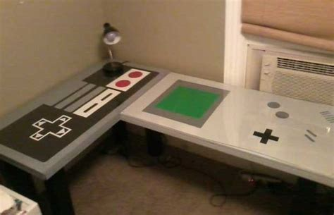 Nintendo Desk 25 Pieces Of Cool Video Game Inspired