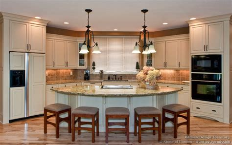 open kitchen islands of pictures of kitchen countertops