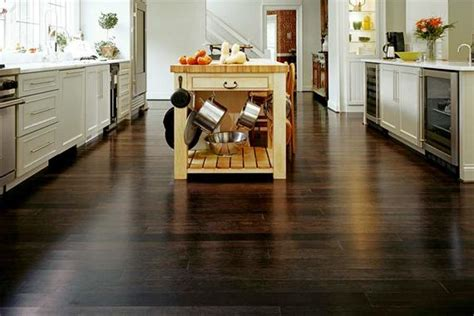 best flooring for a kitchen selecting kitchen flooring wood floors plus 7688