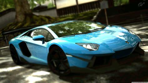 Lamborghini Aventador Lp700-4 Blue 4k Hd Desktop Wallpaper
