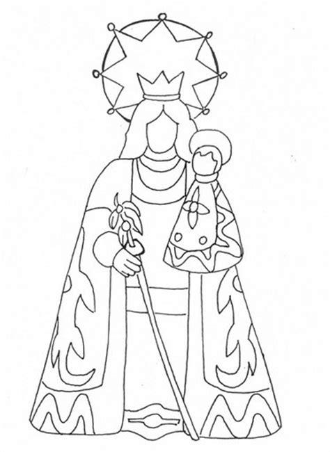 disegni madonna con bambino da colorare semplice immagine da colorare madonna con bambino