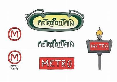 Metro Paris Vector Series Subway Clipart Take