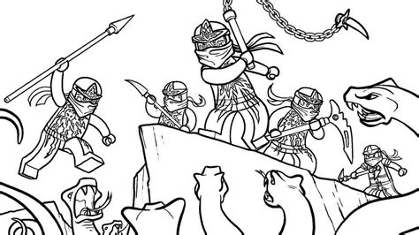 coloring page ninjago ausmalbilder fr kinder