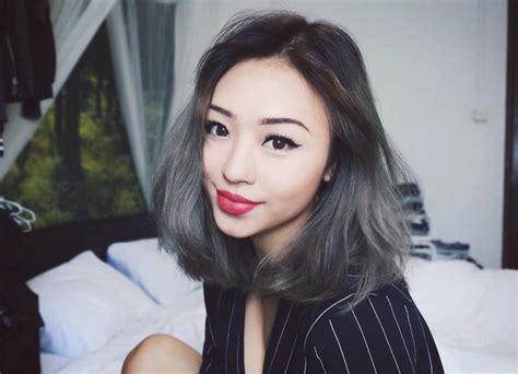 modern short grey hair  trendy girls hairstylecamp