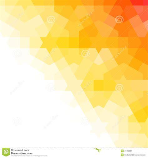 Orange And White Arabic Background Stock Vector - Image
