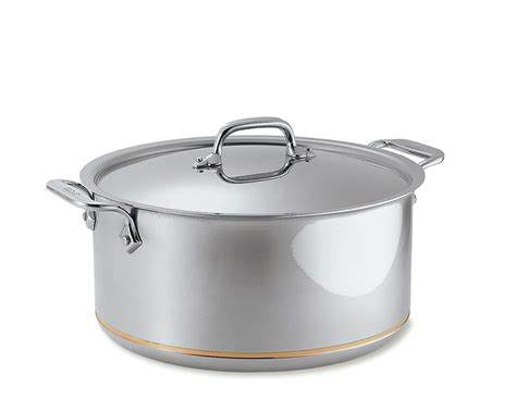 clad copper core stock pot williams sonoma au