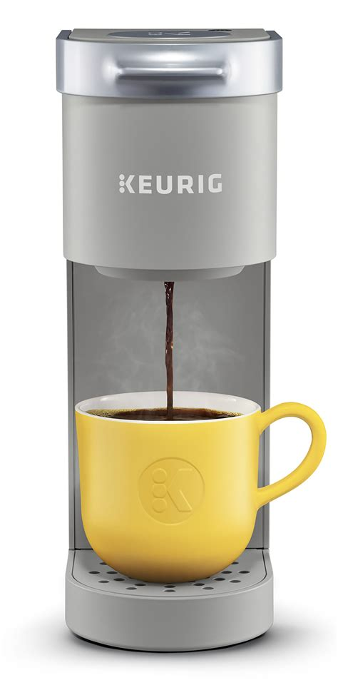 You'll be able to use both. Keurig K-Mini Single Serve K-Cup Pod Coffee Maker, 6 to 12 oz. Brew Sizes, Studio Gray - Walmart ...