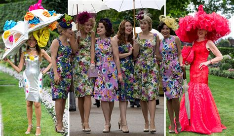 The Wacky And Wonderful Outfits From Royal Ascot Ladies Day 2017