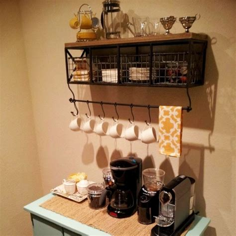 shelf of coffee diy coffee station ideas home coffee bars ideas pictures