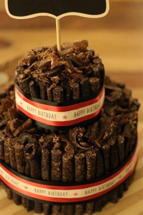 custom biltong birthday cake biltong food cake