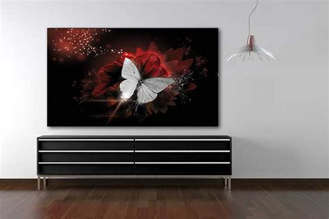 tableau deco tableau d 233 co papillon de lumi 232 re izoa
