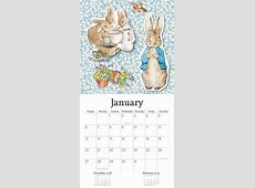 Peter Rabbit Calendar 2019 Calendar Club UK