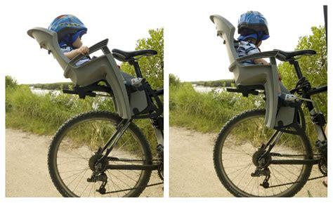 siege velo inclinable première balade avec le siège vélo hamax siesta sur le