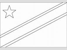 Flag of Democratic Republic of the Congo, 2009 ClipArt ETC