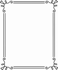 無料のフリー素材 - フレーム枠・タイトル「シンプル」