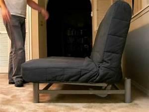 Ikea Schlafsofa Beddinge : ikea beddinge futon in action youtube ~ Orissabook.com Haus und Dekorationen