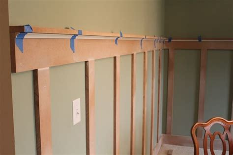 A Less Expensive Way To Have Chair Railwainscoting Diy