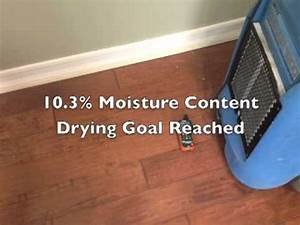 Drying hardwood floors water damage dasmuus for How to dry wet wood floor