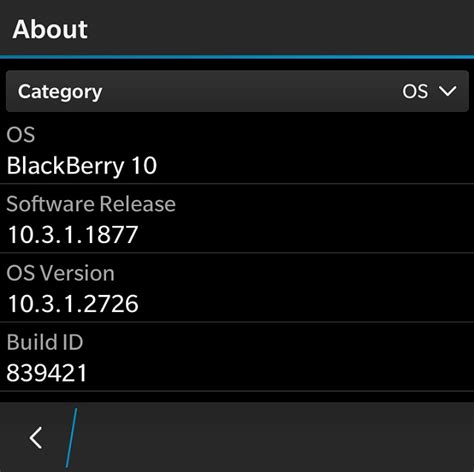 blackberry os 10 3 1 2726 update leaked for blackberry passport leap and more links