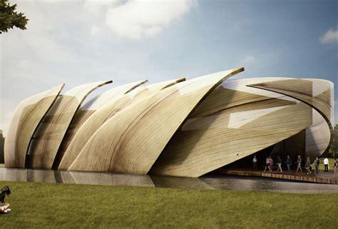 farmhouse building plans loguer unveils corn inspired mexican pavilion for the 2015