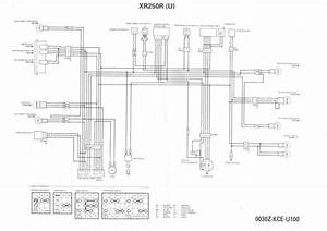 Wiring Diagram For Xr250r  Euro Spec