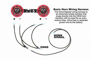 Grimmspeed Hella Horn Wiring Harness 2002