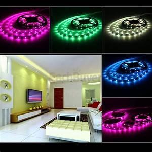 Ruban Led Adhésif : 5m bande ruban flexible lumineux 5050 smd 150 led achat ~ Edinachiropracticcenter.com Idées de Décoration