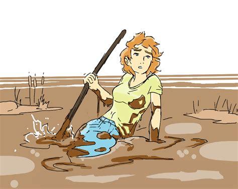 Sinking In Quicksand By Silkyfriction On Deviantart