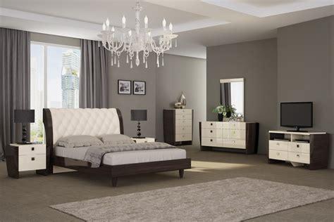 milan bedroom set beige wenge star modern furniture