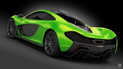 Green Mclaren P1 Concept Rear By Dangeruss On Deviantart