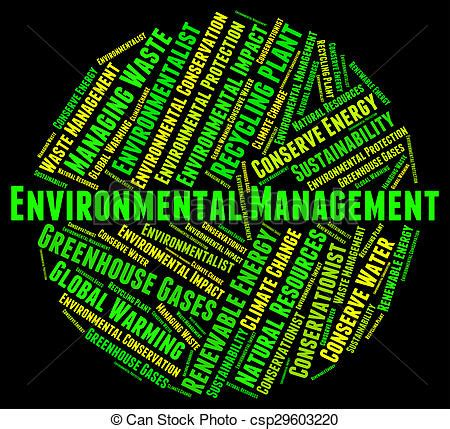 environmental management represents earth day
