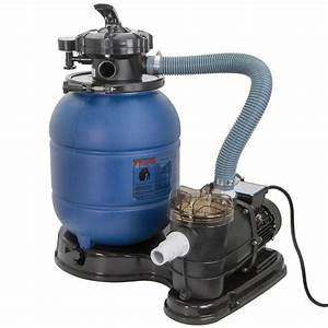 Xtremepowerus Above Ground 3  4 Hp Pools Sand Filter Pump