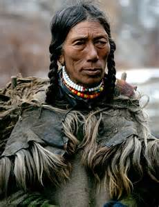Dark Skinned Native American People