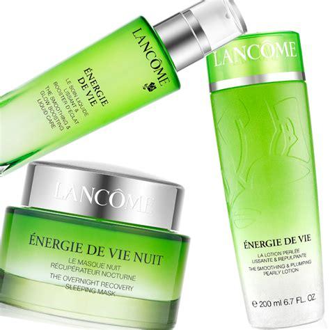 lancome s new energie de vie skincare 5pm spa beauty