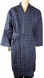 mens lightweight polyester cotton dressing gown robe big With robe polyester