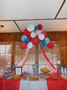 Thing 1 and Thing 2 Baby Shower