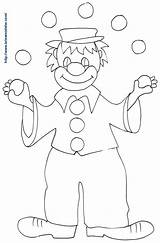 Clown Coloriage Dessin Cirque Jongleur Juggler Teteamodeler Simple Giocoliere Pagliaccio Clowns Cenicienta Coloring Disney Juggling Avec Balls Printable Character sketch template