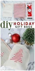 DIY Gifts Ideas Heat N Bond Holiday Gift Bags