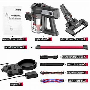 Cordless Vacuum  Onson Stick Vacuum Cleaner  Powerful Cleaning