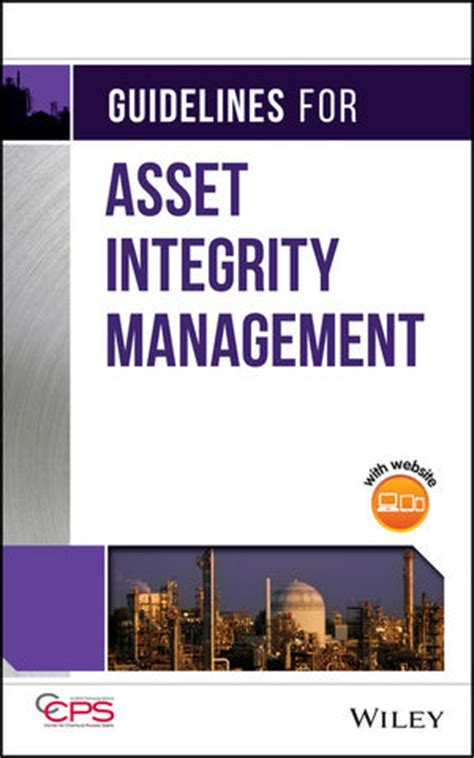 guidelines asset integrity management aiche
